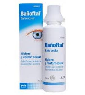 Bañoftal solución ocular 200 ml