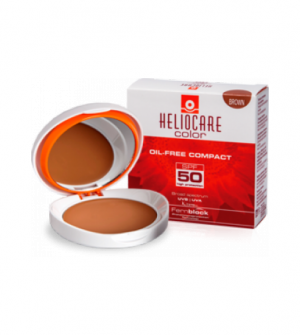 Heliocare Compacto Coloreado Brown SPF 50, 10gr