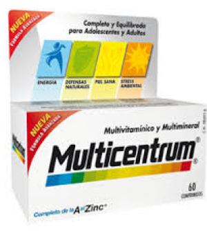 Multicentrum Hombre 30 comp.